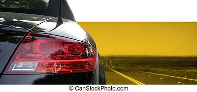 car, pretas