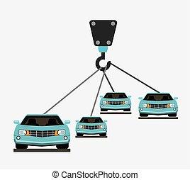 car production design, vector illustration eps10 graphic
