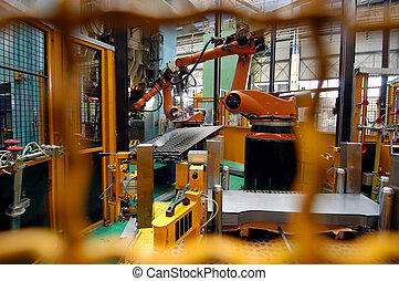 car production line