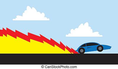 Car Racing Fire