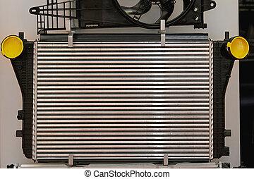 Car radiator - Aluminium car cooling radiator part