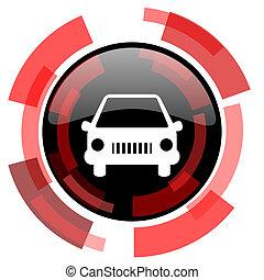 car red modern web icon