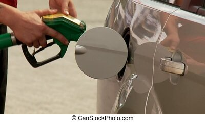 Car refilling