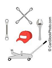 car repair mechanic tools