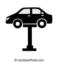 car repair service icon