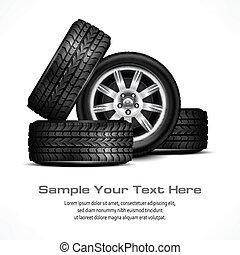 car, rodas