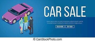 Car sale banner