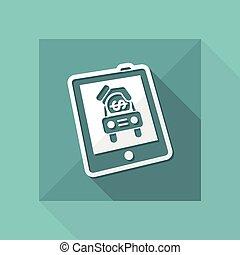 Car sales icon