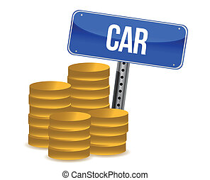 car savings concept