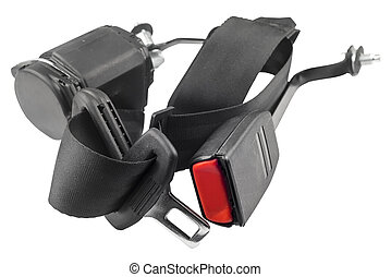 car seat belt with shallow depth of field - Car seat belt ...