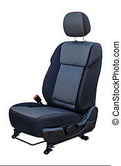car seat on a white background