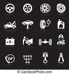 Car service icon set1.