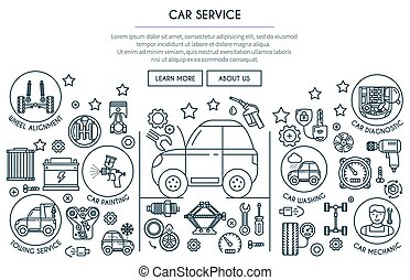 Car Service Illustration 2