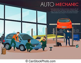 Car Service Illustration