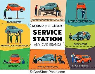 Car Service Poster