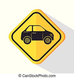 car service sign