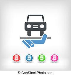 Car services icon
