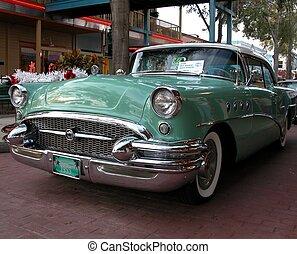 Car Show - photographed at Orlando, Florida showing old car ...