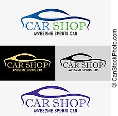 Car Showroom Logo