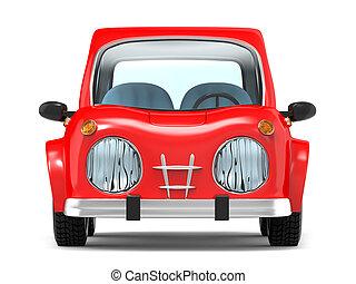 car small cartoon front