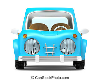 car small cartoon front