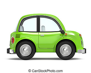 car small cartoon side