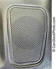 Car Speaker Top View