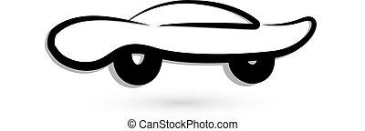 Car sportive logo