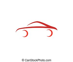 Car symbol illustration