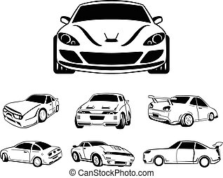 Car symbol illustration