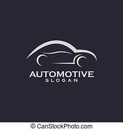 Car symbol vector icon