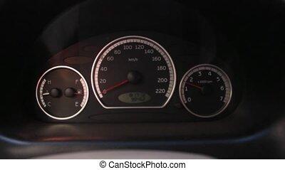 Car Tachometer While Revving