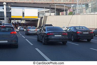 Car Traffic in a City