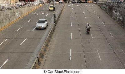 Car Traffic On Onramp