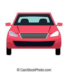 car transport sedan vehicle cartoon