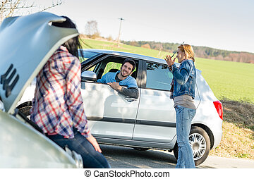 Car troubles girlfriends need help