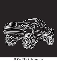 car truck 4x4 pickup off-road