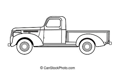 Car truck old
