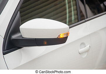Car Turn Signal Light. Light indicator of turn of the car on...