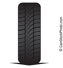 Car tyre - tire