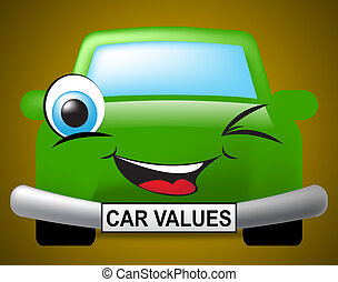Car Values Shows Current Price And Automobile