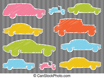 Car vector background