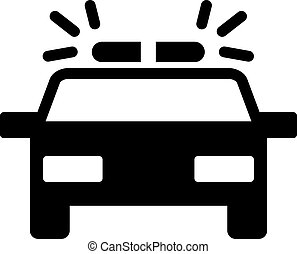 car vector icon. Illustration isolated for graphic and web design.