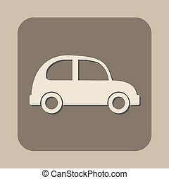 car vector icon logo