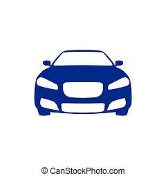 Car Vector Icon. Transportation Illustration Template