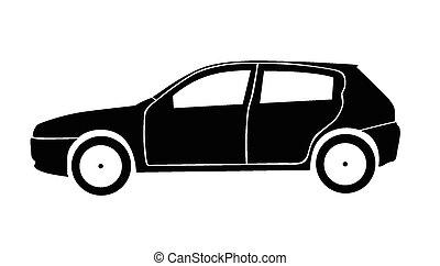 car, vetorial, ilustração