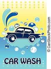 Car Wash Banner