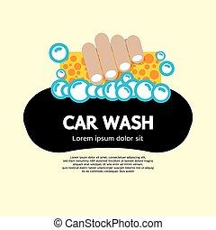 car, wash.
