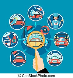 Car Wash Magnifier Concept