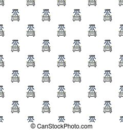 Car wash pattern seamless